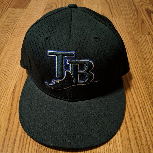 b89745ac Tampa bay rays new era 59fifty fitted hat 7